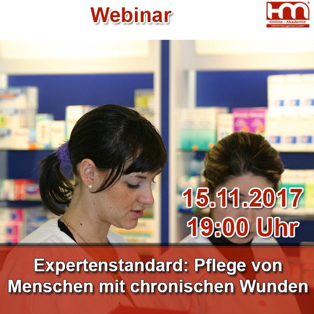 Expertenstandard: Pflege von Menschen mit chronischen Wunden